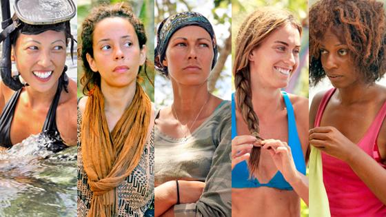 Survivor, Christina Cha, Alicia Rose, Sabrina Thompson, Chelsea Meissner, Kim Spradlin