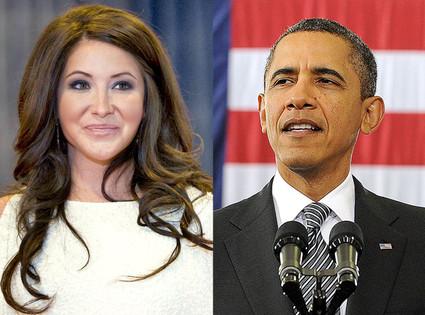 Bristol Palin, Barack Obama