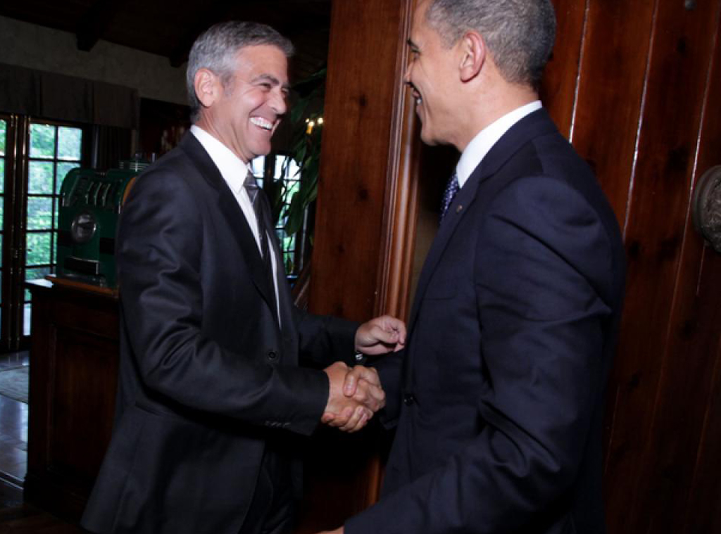 Fundraising Reception, Barack Obama, George Clooney