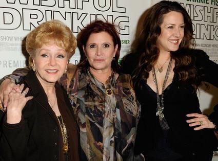 Debbie Reynolds, Carrie Fisher, Joely Fisher