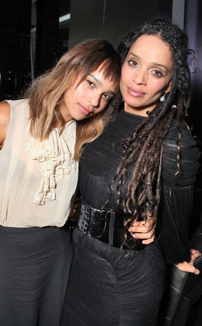 Lisa Bonet, Zoe Kravitz