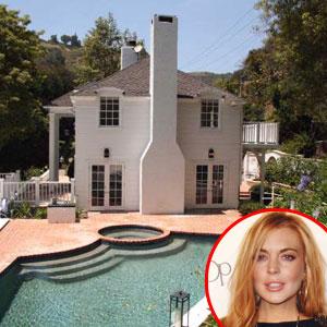 Lindsay Lohan Los Angeles Rental Home