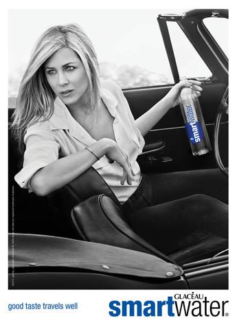 Jennifer Aniston, Smartwater Ad