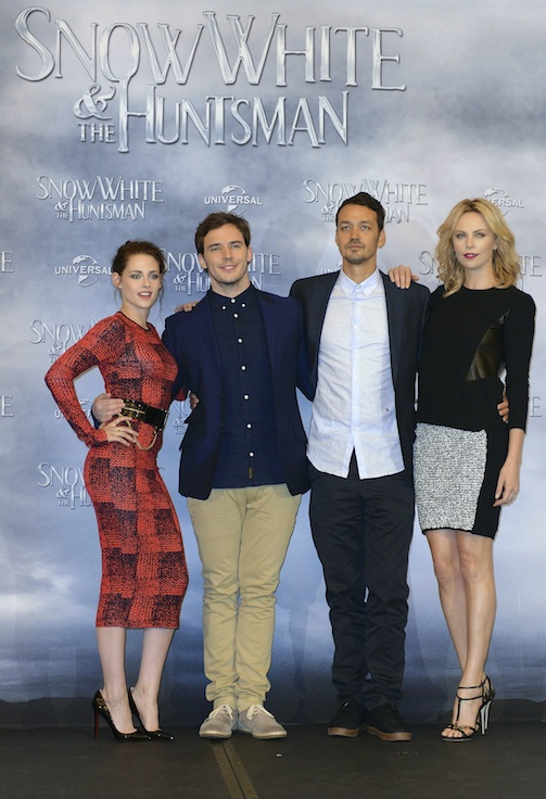 Kristen Stewart, Sam Claflin, Rupert Sanders, Charlize Theron