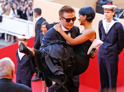 Alec Baldwin, Hilaria Thomas, Cannes Film Festival