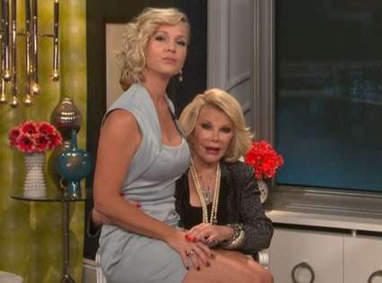 Joan Rivers, Jennie Garth