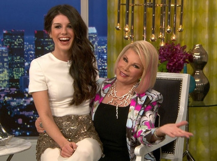 Joan Rivers, Shenae Grimes
