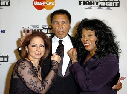 Gloria Estefan, Muhammad Ali, Donna Summer