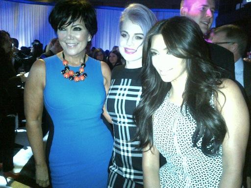 E! Upfront, Kris Jenner, Kelly Osbourne, Kim Kardashian