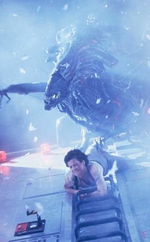 Aliens, Sigourney Weaver