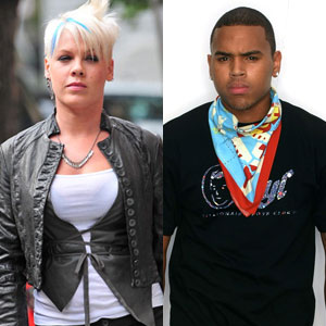 Pink, Chris Brown