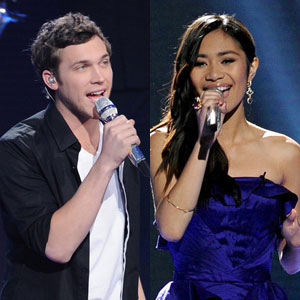 Phillip Phillips, Jessica Sanchez, American idol 11