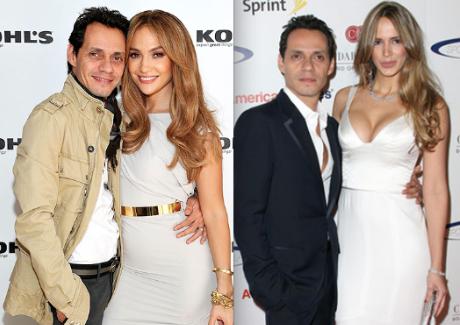 Marc Anthony, Jennifer Lopez, Shannon De Lima