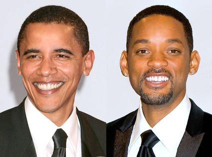 Barack Obama, Will Smith