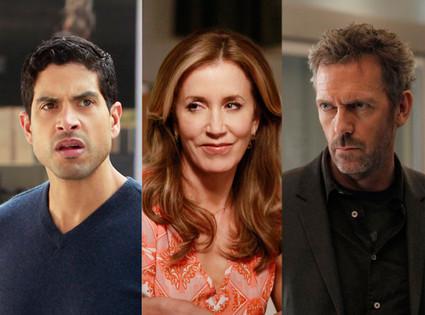 CSI: Miami, House, Desperate Housewives