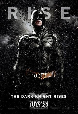 The Dark Knight Rises, Poster