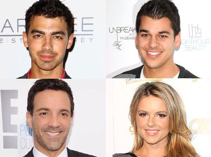 Joe Jonas, Rob Kardashian, George Kotsiopoulos, Ali Fedotowsky