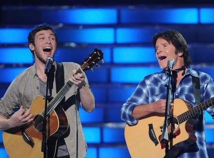 American Idol Finale, Phillip Phillps, John Fogerty