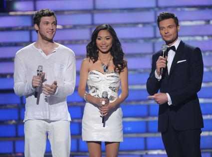American Idol Finale, Phillip Phillps, Jessica Sanchez, Ryan Seacrest