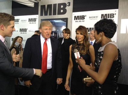 Men In Black 3 New York Premiere, Donald Trump, Melania Trump