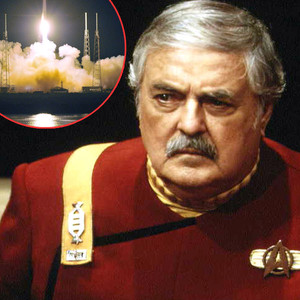 James Doohan, Star Trek, SpaceX Falcon 9