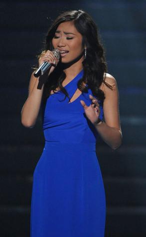Jessica Sanchez, American Idol Finale