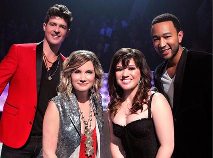 Kelly Clarkson, Robin Thicke, Jennifer Nettles, John Legend, Duets