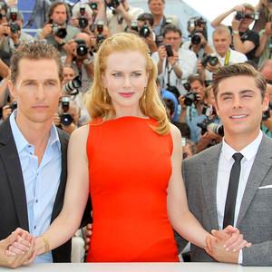 Matthew McConaughey, Nicole Kidman, Zac Efron, Cannes film festival