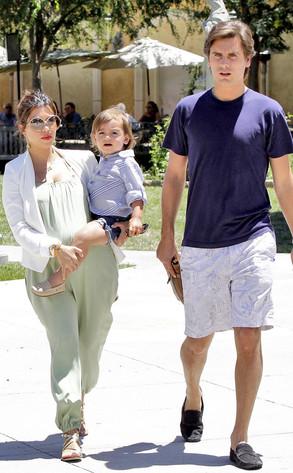 Kourtney Kardashian, Scott Disick, Mason