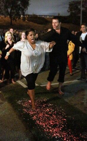 Oprah Winfrey, Tony Robbins