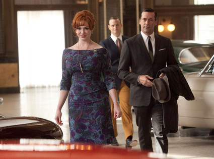 Mad Men, Christina Hendricks, Jon Hamm