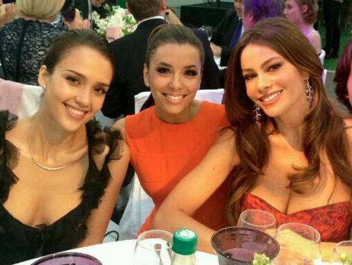 Jessica Alba, Eva Longoria, Sofia Vergara