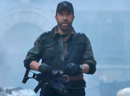 Expendable 2, Chuck Norris