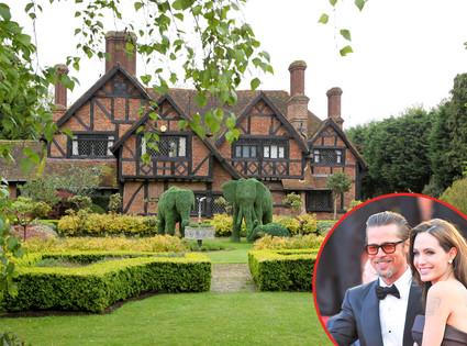 UK Home, Brad Pitt, Angelina Jolie
