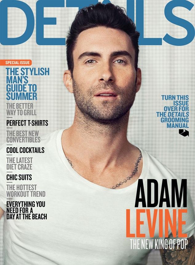 Adam Levine, Details Magazine Cover