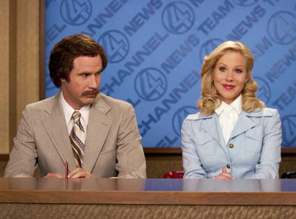 Will Ferrell, Christina Applegate, Anchorman