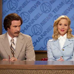 Will Ferrell, Christina Applegate, Anchorman