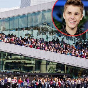 Oslo Fans, Justin Bieber