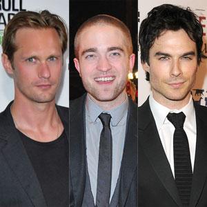 Alexander Skarsgard, Robert Pattinson, Ian Somerhalder