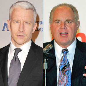 Anderson Cooper, Rush Limbaugh