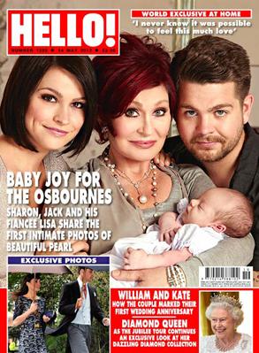 Jack Osbourne, Hello Magazine