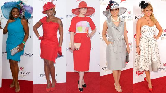 Kentucky Derby, Star Jones, Mary J Blidge, Ginnifer Goodwin, Debra Messing, Miranda Lambert
