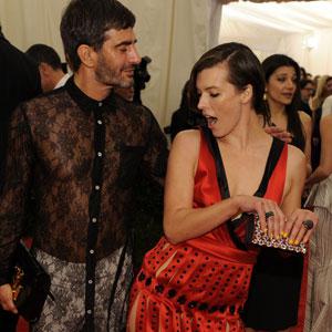 Milla Jovovich, Marc Jacobs