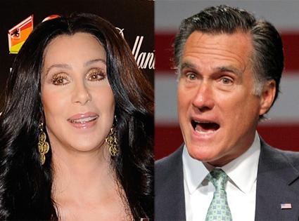 Cher, Mitt Romney