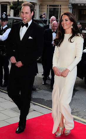 Kate Middleton Stuns In High Slit Dress At Thirty Club Dinner E News