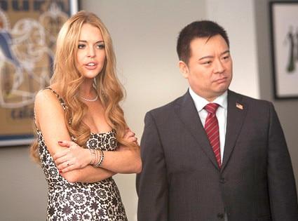 Glee, Lindsay Lohan