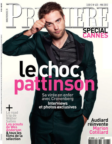 Rob Pattinson Premiere Cover