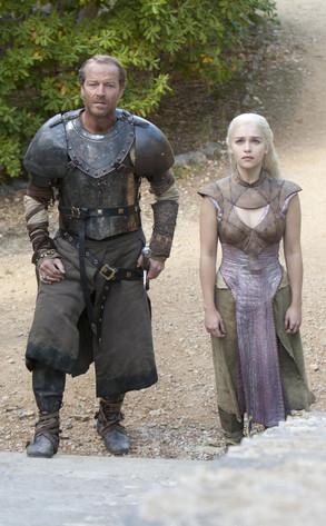 Game of Thrones, Iain Glenn, Emilia Clarke