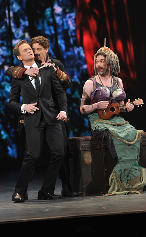 Tony Awards, Neil Patrick Harris, Christian Borle, Peter and the Starcatcher Cast