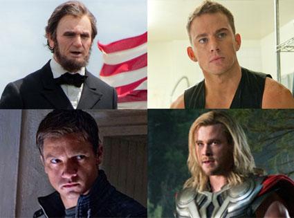 Magic Mike, Channing Tatum, Avengers, Bourne Legacy, Jeremy Renner, Abraham Lincoln Vampire Hunter